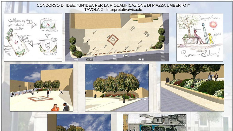 """Concorso di idee per la progettazione di """"Piazza Umberto I"""" a San Pancrazio Salentino – Progetto 2° classificato"""